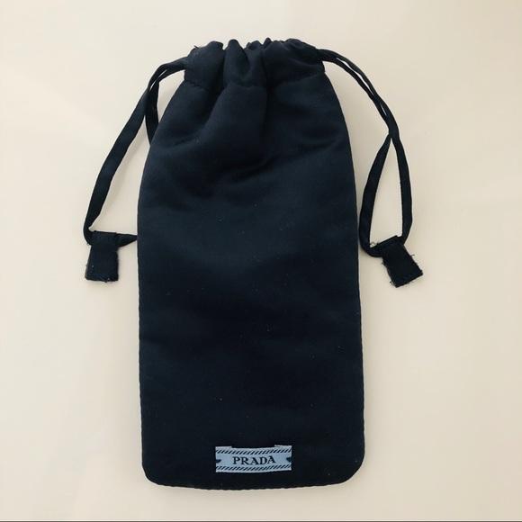 2031613df4a9ad PRADA : : Black Padded Sunglass Soft Case. M_5c3a5c1645c8b311a9681149
